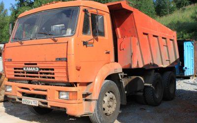 Самосвал КАМАЗ 65115